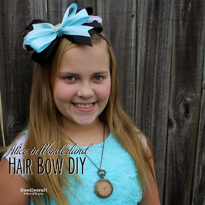 http://www.doodlecraftblog.com/2015/02/alice-in-wonderland-hair-bow-headband.html