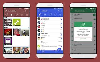 Download BBM MOD Delight v2.2.0 Base 3.3.2.31 For Android 2017