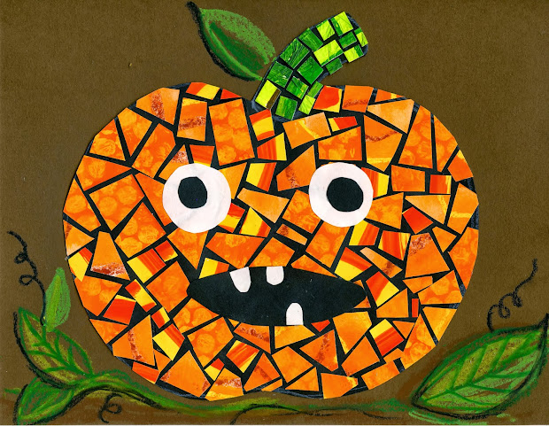 "Artist Woman Halloween Mosaics And ""mastering"