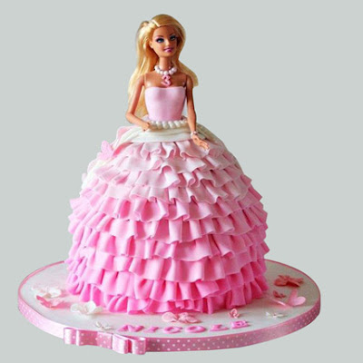 Barbie cake: Every Girl's Dream