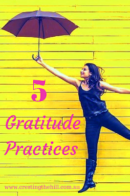 Five Things Friday ~ 5 Gratitude Practices