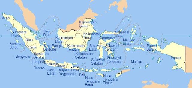 Daftar Nama Kabupaten dan Kota di Indonesia