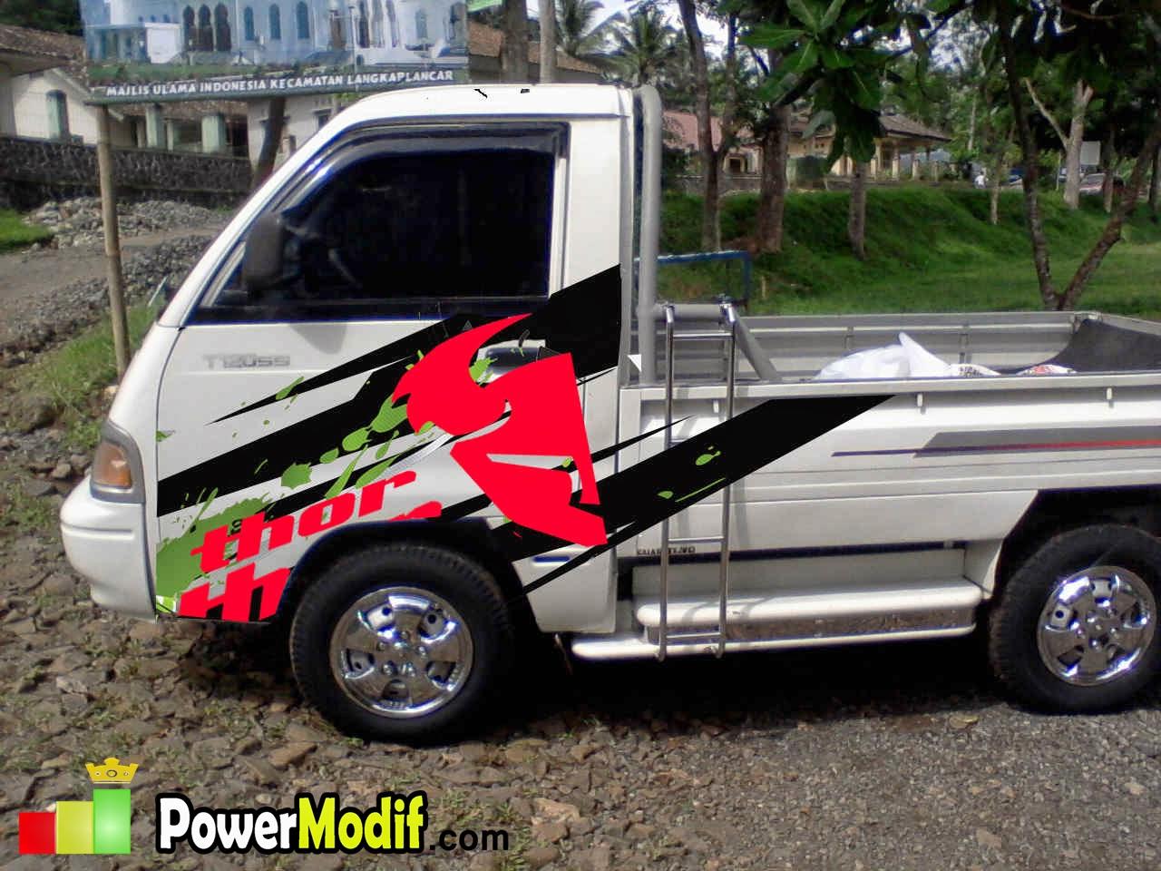 Mitsubishi T SS Modifikasi Powermodif Desain Dan Modifikasi