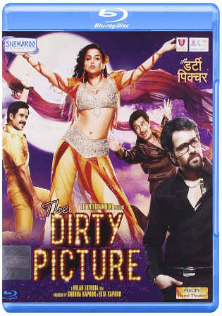 The Dirty Picture 2011 BRRip 400MB Full Hindi Movie Download 480p Watch Online Free bolly4u