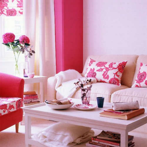 Pink Living Room Ideas: Home Quotes: Spring-summer Special: Living Room Ideas In