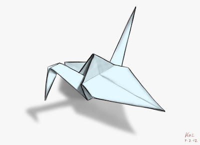 Origami Crane - Wish