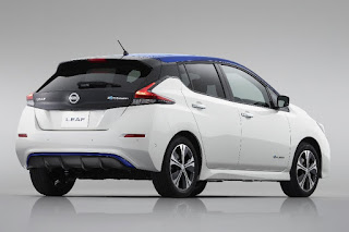 Nissan Leaf (2018) Rear Side
