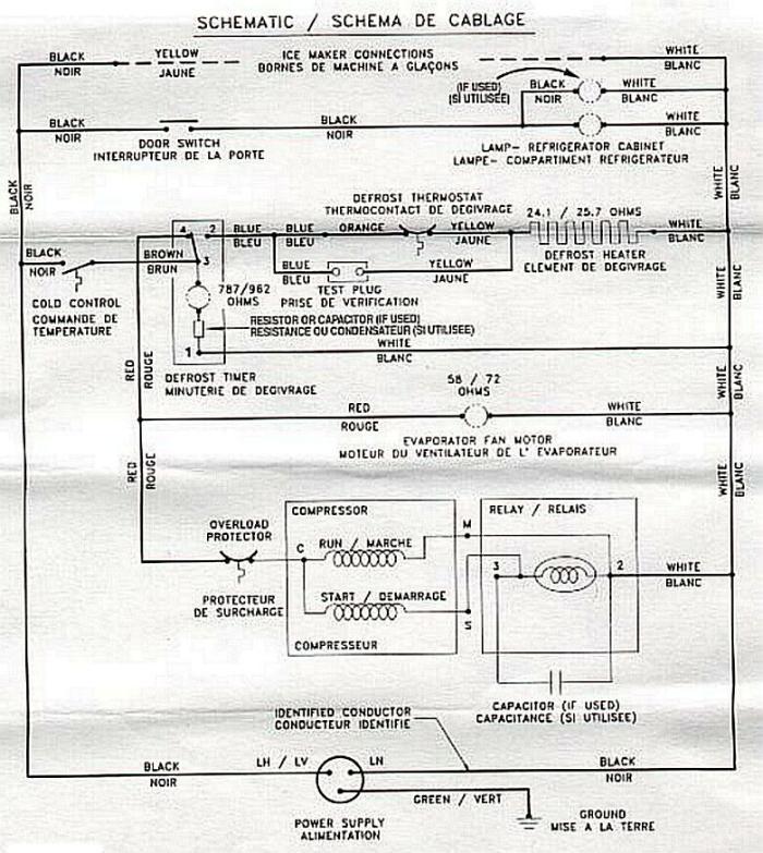 Kenmore Elite Refrigerator Wiring Diagram: sanyo refrigerator wiring diagram at negarled.com