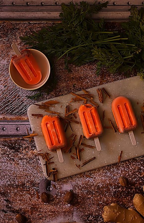 carrot cake helado