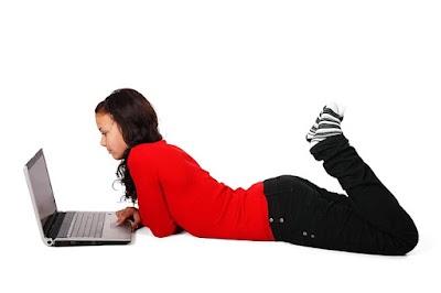 Postura Correcta para usar los Ordenadores Portatiles