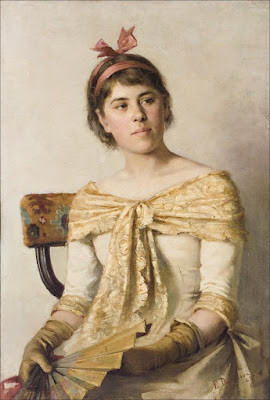 Rosa (also known as The Artist's Sister) Elin Danielson-Gambogi