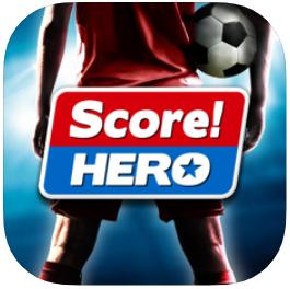 Score Hero en top de juegos de futbol para Android y iOS