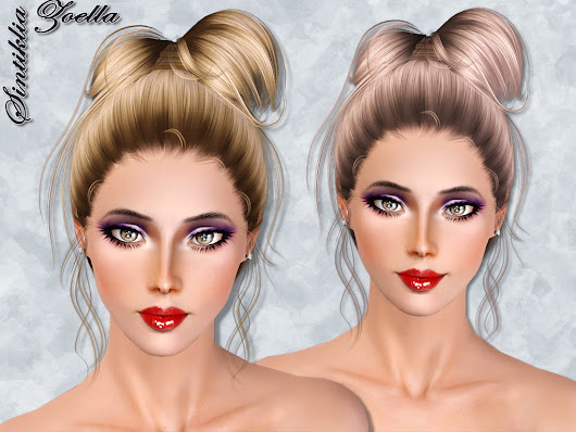 Sintiklai - Hair Zoella for Sims 3