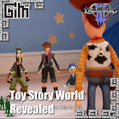 Kingdom Hearts III show Toy Story World