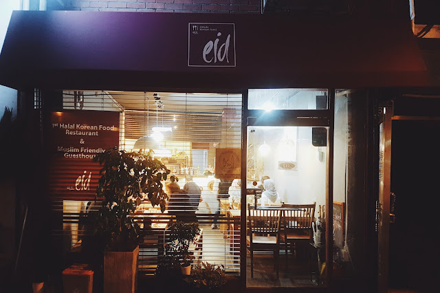 EID - 이드 Halal Korean Food, Itaewon (이태원)