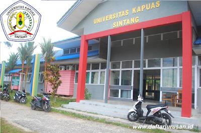 Daftar Fakultas dan Program Studi UNKA Universitas Kapuas Sintang