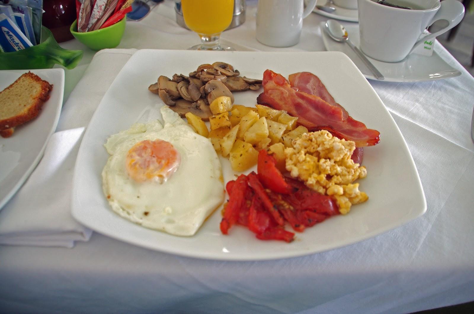 Tharroe of Mykonos Cooked Breakfast