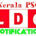 Kerala PSC LDC Notification 2016