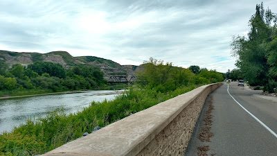 North River Path, Drumheller