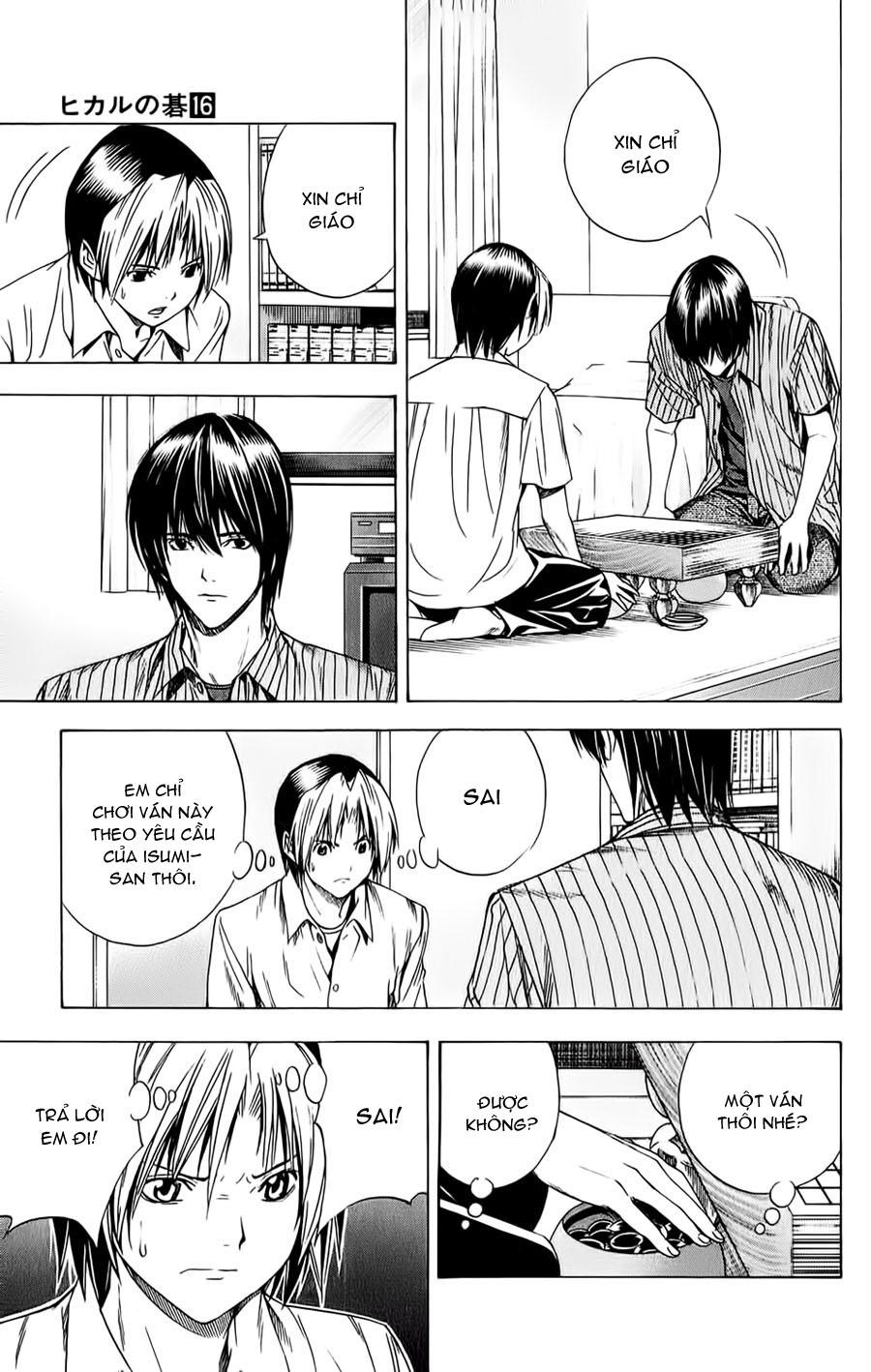 Hikaru No Go hikaru no go chap 139 trang 8