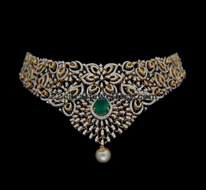 choker from kothari jewelry jewellery designs