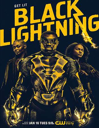 Poster Of Black Lightning Season 01 2018 Watch Online Free Download