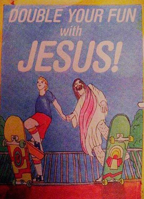 Funny book picture - Double Your Fun With Jesus