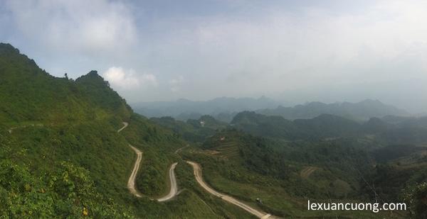 Đèo dốc là đặc sản của các cung đường ở Hà Giang