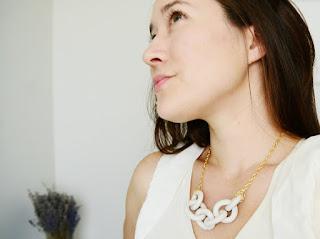 ceramic jewelry necklace