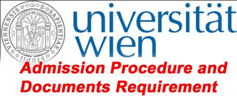 University of Vienna Admission Procedure and Documents Requirement