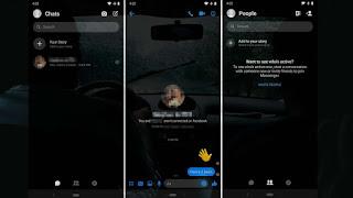 Cara Mengaktifkan Mode Gelap Fitur Tersembunyi di Facebook Messenger Terbaru