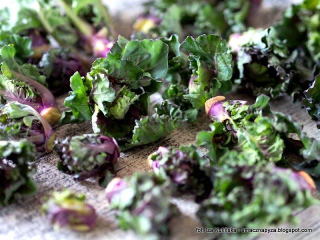 nowe warzywo, krzyzowka jarmuzu i brukselki, salata, sledz, fasola biala, swiateczne dania, swiateczne potrawy, wigilia i bozenarodzenie, salatka z kalerosse ze sledziem i fasola