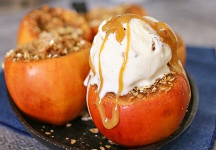 Crockpot Baked Apples