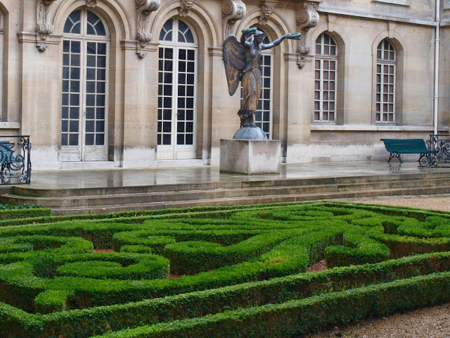 image result for gardens at Musee Carnavalet photo by Michele Ranard