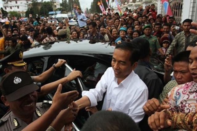 Presiden Jokowi di Medan, Pedagang Pasar Tradisional Ini Tulis Curhat Memilukan Seperti Ini..