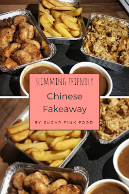 Chinese Chicken Balls, Egg Fried Rice & Curry Sauce | Fakeaway Recipe