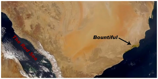 Satellite Photograph of the Land Bountiful