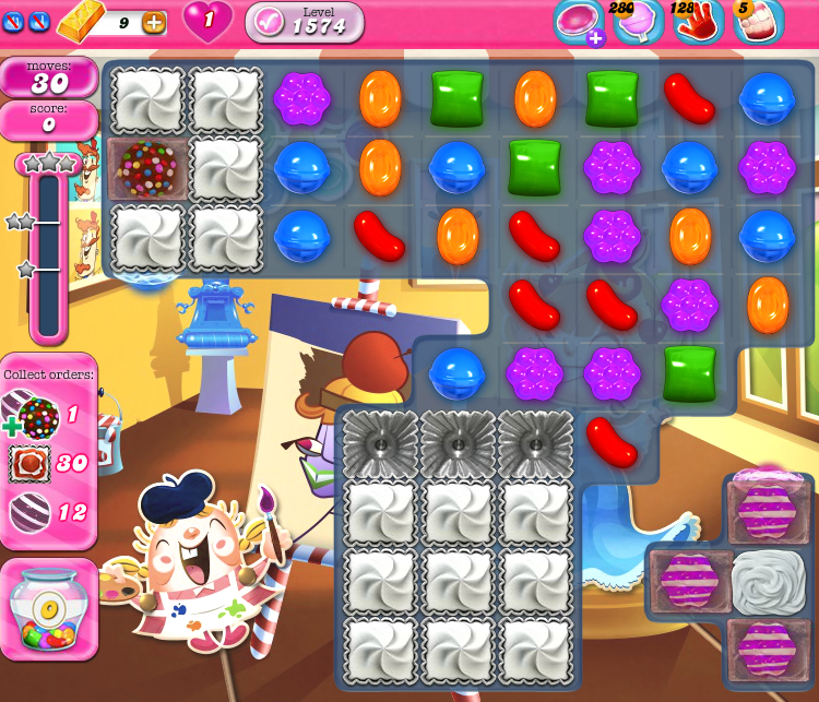 Candy Crush Saga 1574
