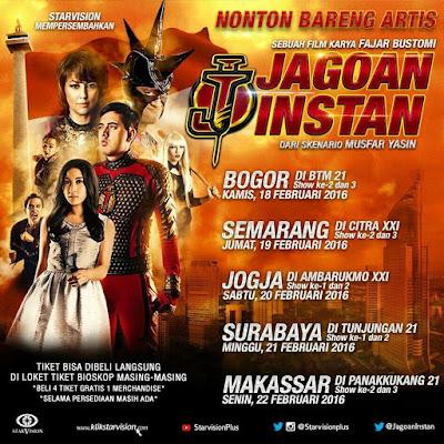 [Review Film] - JAGOAN INSTAN, Jagoan Pembela Rakyat & Pemberantas Korupsi