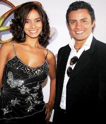 Foto de Maricielo Effio feliz con su esposo