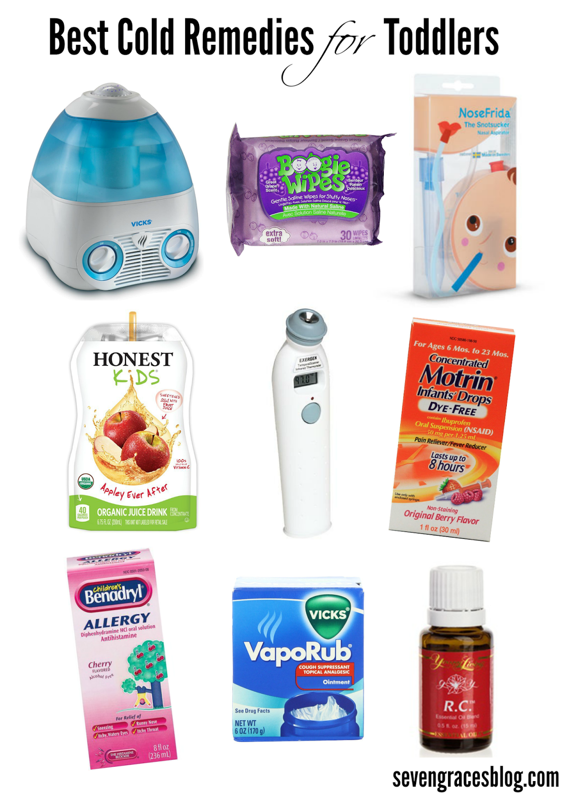 Seven Graces: Best Cold Remedies For Toddlers