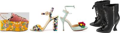 moda donna scarpe primavera-estate 2017