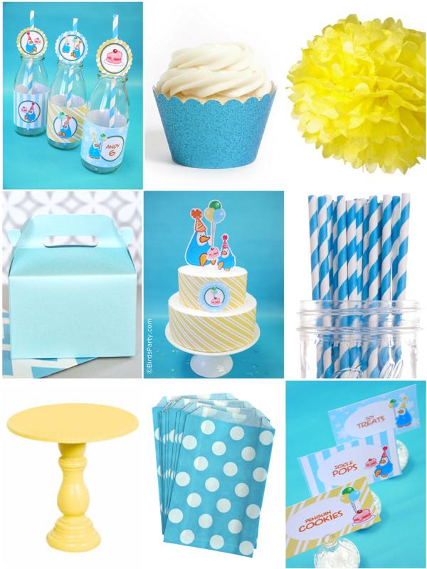 Idées de fêtes d'anniversaire enfants thème pingouin | BirdsParty.fr
