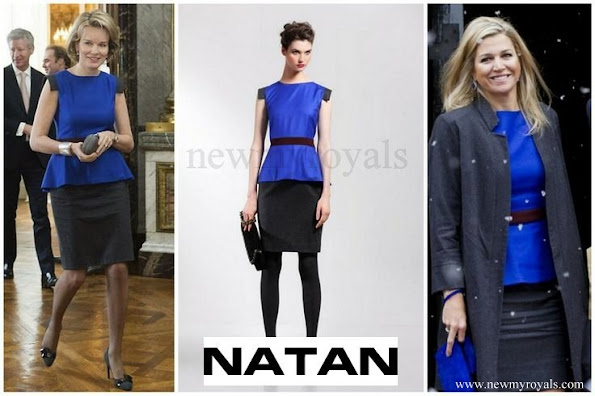 Queen Mathilde and Queen Maxima wore NATAN dress