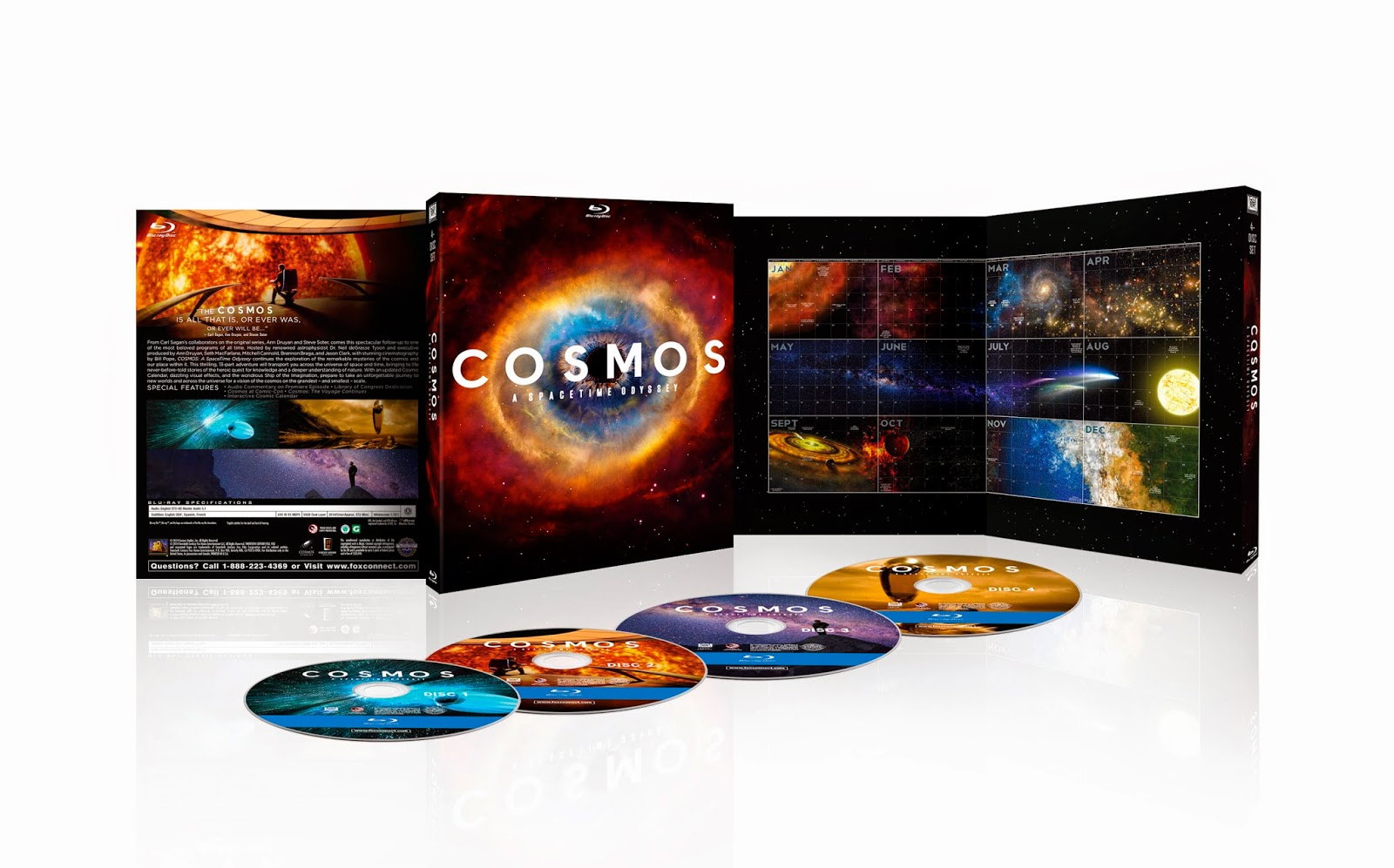 Blu-ray Review - Cosmos: A Spacetime Odyssey