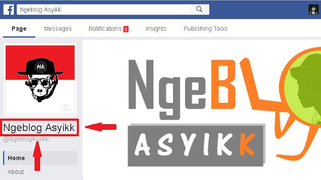 fanspage facebook ngeblogasyikk