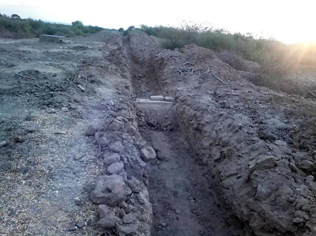 4,500-year-old Early Harappan wall damaged during excavations