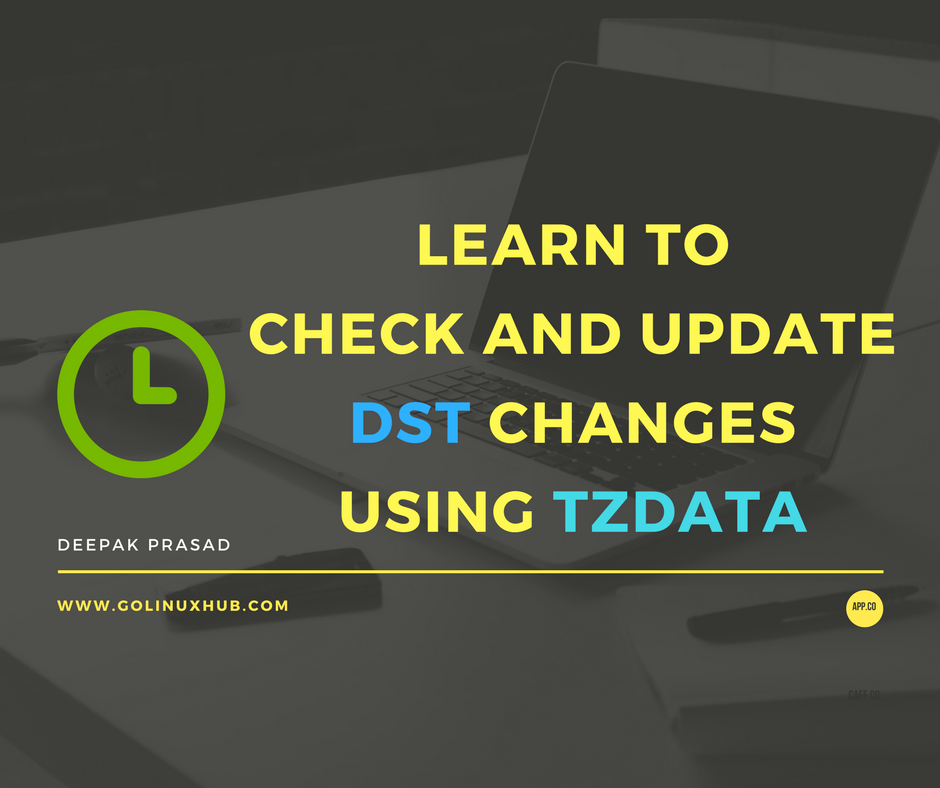 How to check and update planned day light saving (DST) changes