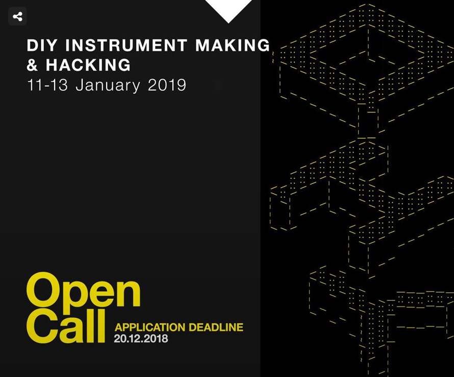 OPEN CALL_DIY Instrument Making & Hacking