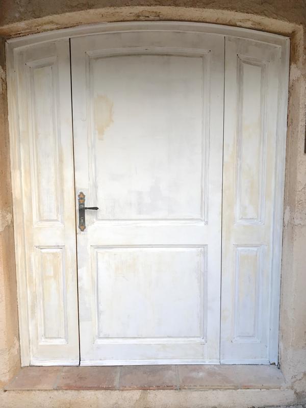 Como pintar una puerta de color mi puerta rosa y post for Colores para pintar puertas